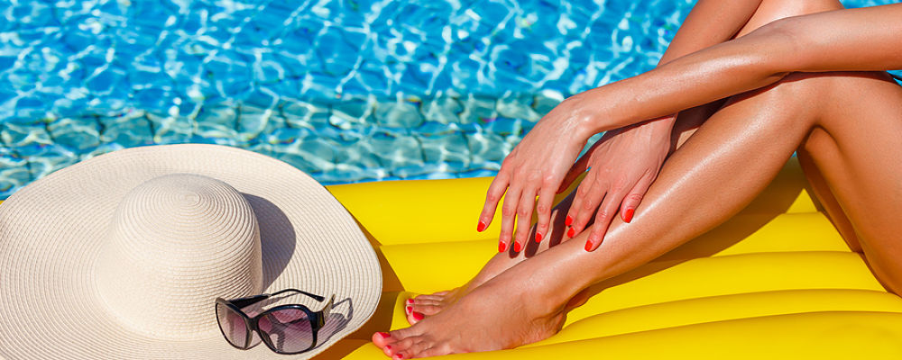 Don't miss out on the final touches for that perfect bikini body look. Get a manicure and pedicure.