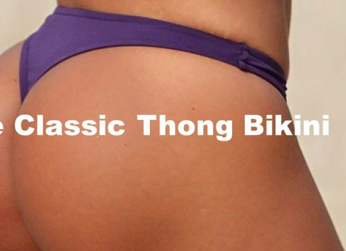 This is our classic thing bikini