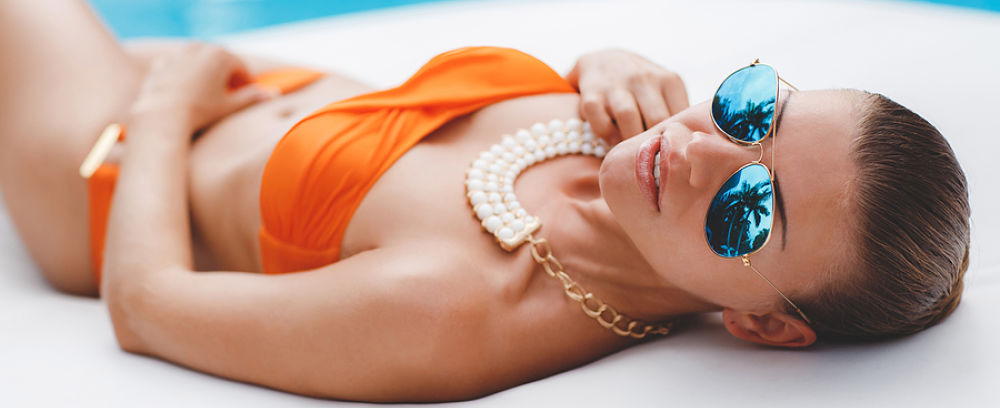 How Too - Accessorizing your thong with sunglasses, necklaces, makeup, earrings and more.