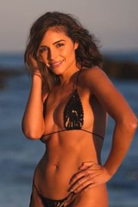 Olivia Culpo Looking Her Very Best in a String Thong Bikini. Her body is chiseled to perfection with sexy abs and tight buns